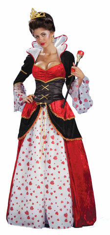 QUEEN OF HEARTS COSTUME - ADULT