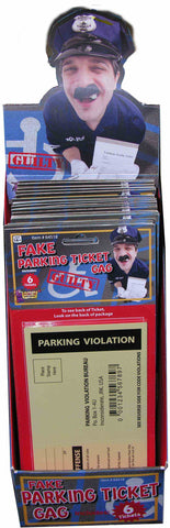 FAKE PARKING VIOLATION TICKETS       6PCS/PKG
