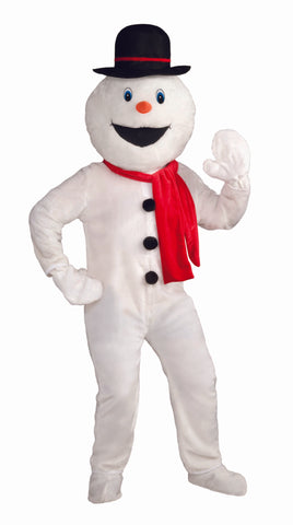 DELUXE MASCOT SNOWMAN COSTUME - ADULT
