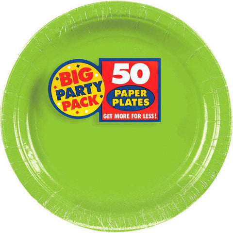 PAPER PLATE KIWI 9 inches inches 50CNT