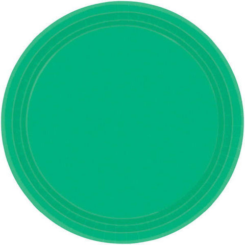 "PAPER PLATE GREEN 9""    20CNT"