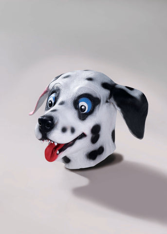 Dalmatian Latex Mask