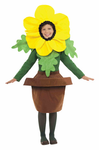 SUNNY BLOSSON FLOWER POT COSTUME  CHILD ONE SIZE