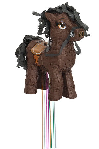 BROWN HORSE PINATA