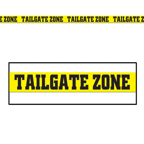 TAILGATE ZONE PARTY TAPE 20'