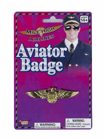 BADGE - AVIATOR GOLD