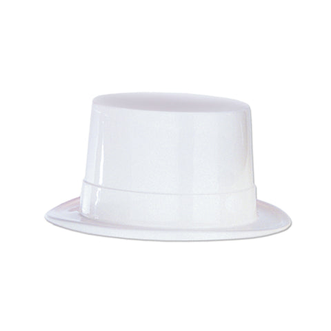 HAT - TOPPER  WHITE