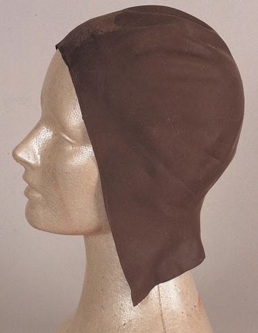 LATEX DARK BALD CAP