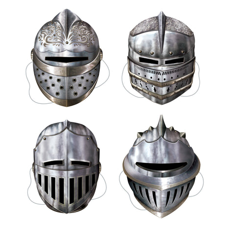CUTOUT - KNIGHT MASKS