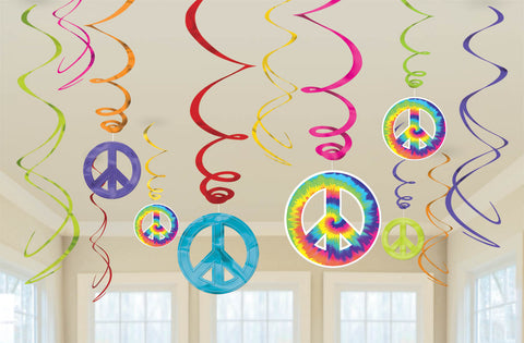 GROOVY SWIRL DECORATIONS