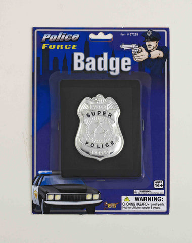BADGE - POLICE W/WALLET