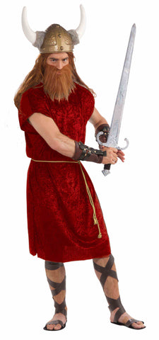 RED TUNIC W/ROBE BELT