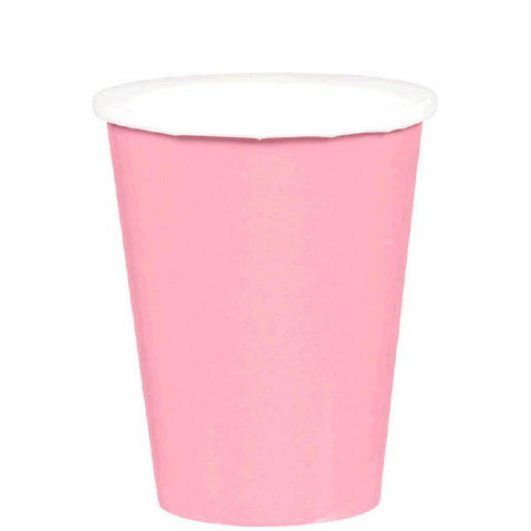 HOT / COLD PAPER CUPS - NEW PINK   9OZ   20 COUNT