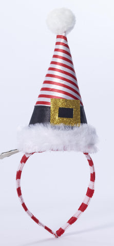 STRIPED SANTA HEADBAND EACH