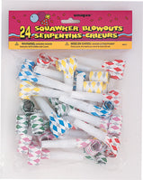 BLOWOUT - DIAMOND SQUAWKER  ASST  24 CT/PKG