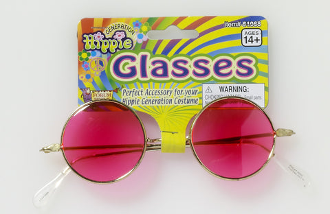HIPPIE GLASSES - PINK