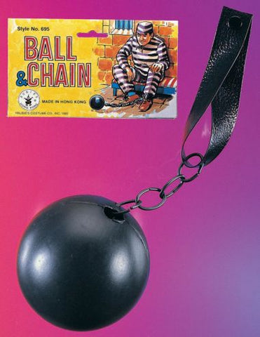 PLASTIC BALL AND CHAIN