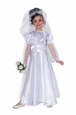 WEDDING BELLE COSTUME - CHILD