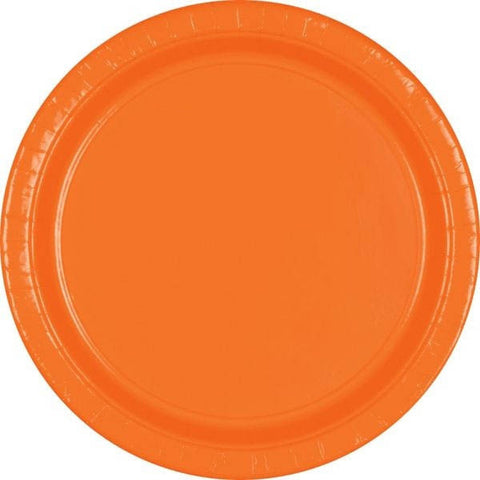 "PAPER PLATE - ORANGE PEEL   10.5""   20CNT"
