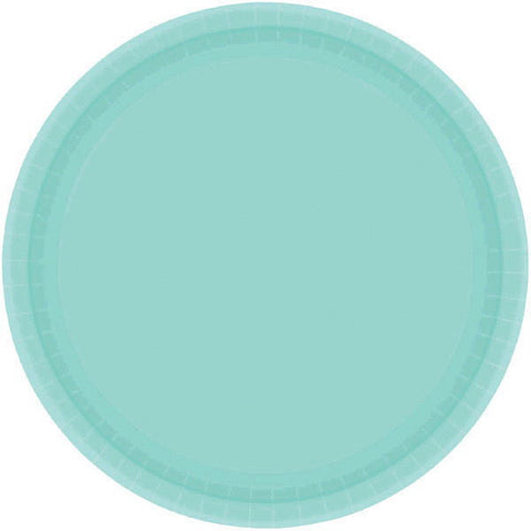 "PAPER PLATE - ROBIN'S EGG BLUE   10.5""   20CNT"