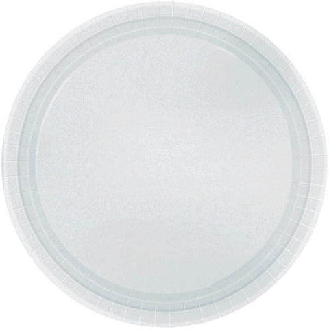 "PAPER PLATE - SILVER   10.5""   20CNT"