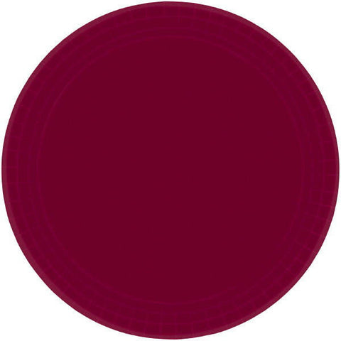 "PAPER PLATE - BERRY   10.5""   20CNT"