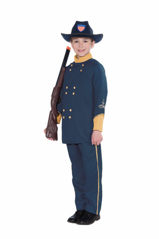 UNION OFFICER COSTUME CHILD