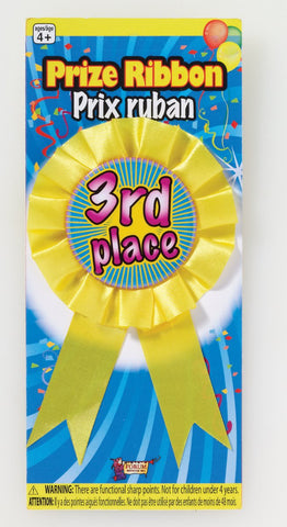 PRIZE RIBBON 3RD PLACE