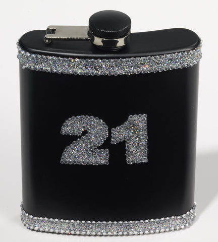 FLASK - 21ST BIRTHDAY WITH BLING