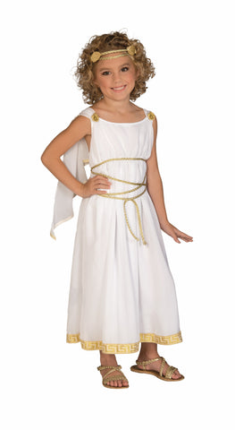 GRECIAN GODDESS COSTUME CHILD    SMALL