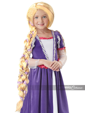 CHILD SIZE RAPUNZEL BLONDE WIG