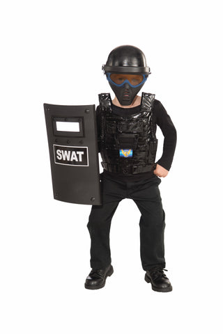 POLICE 4PC SWAT SET AGES 8+