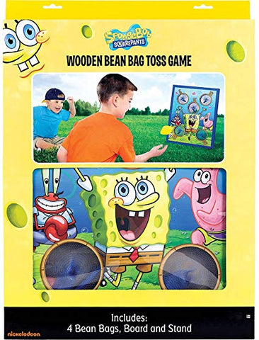 SPONGEBOB BEAN BAG TOSS GAME