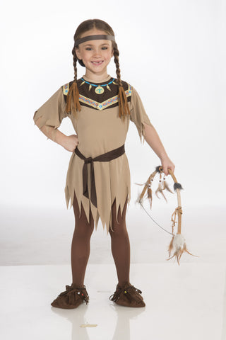 COSTUME - INDIAN PRINCESS CHILD