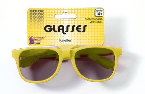 Yellow Sports Sunglasses