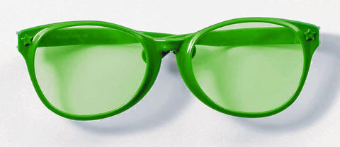 GREEN JUMBO GLASSES