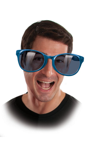 Blue Jumbo Sunglasses