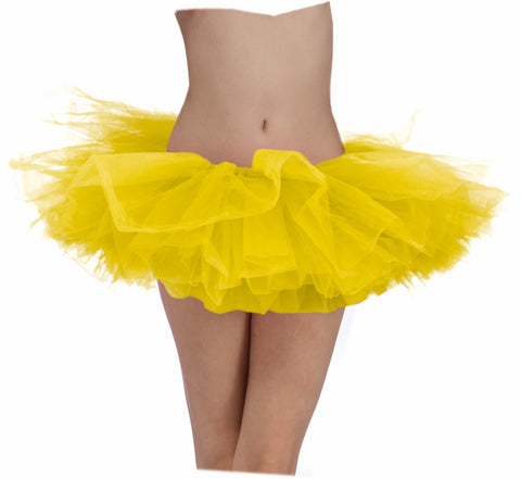YELLOW SCHOOL SPIRIT TUTU