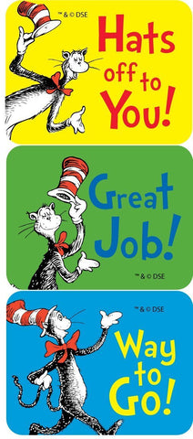 DR. SEUSS SMALL STICKERS
