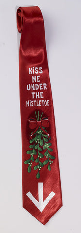 UNDER THE MISTLETOE TIE - X RATED