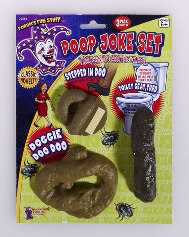 POOP 3PC JOKE SET EACH