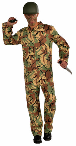CAMO ARMY JUMPSUIT