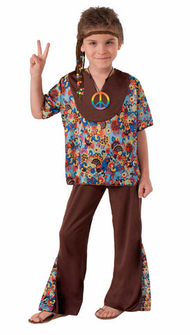 HIPPIE BOY COSTUME - CHILD