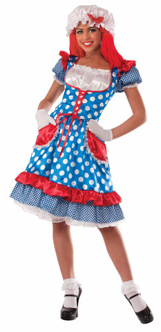 RAG DOLL LADY COSTUME - ADULT