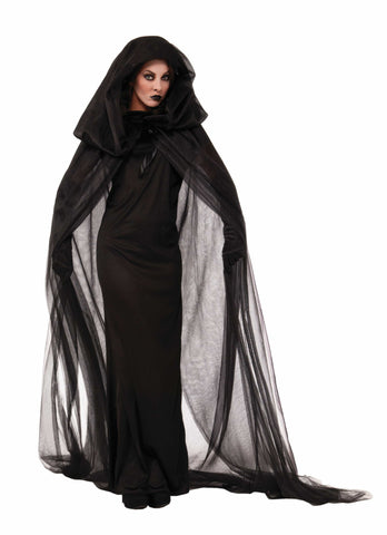 HAUNTED BLACK CAPE