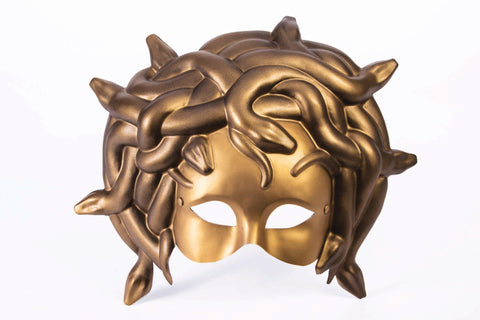 GOLD MEDUSA MASK