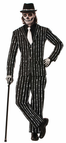 BONE PIN STRIPE SUIT