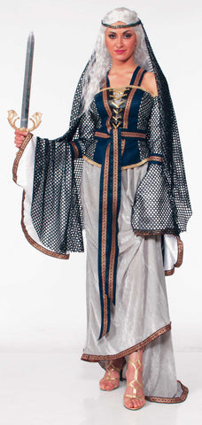 LADY OF THE LAKE COSTUME ADULT  X-LARGE