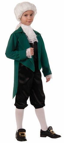 THOMAS JEFFERSON COSTUME CHILD