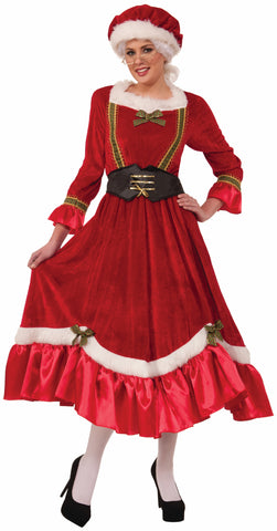 MRS. CLAUS COSTUME ADULT  UP TO SIZE 14/16